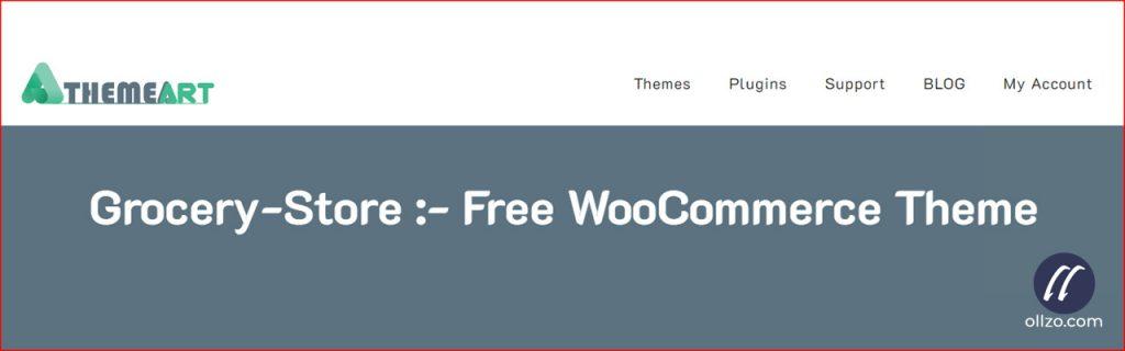 Grocery Shop, Best WordPress eCommerce theme, ollzo