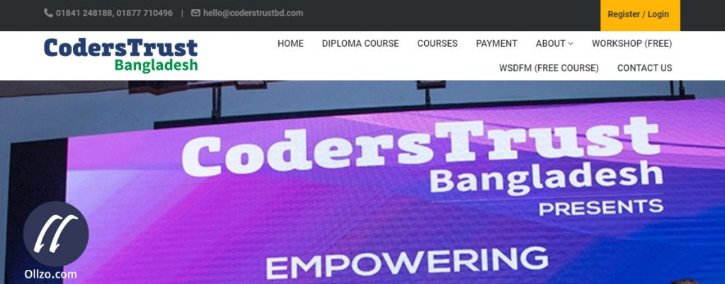 CodersTrust, WordPress Learning Bangladesh, Ollzo.com