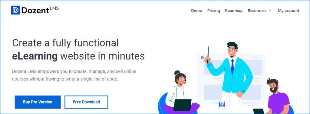 Dozent LMS Plugin, Ollzo.com, Learning Management System WordPress