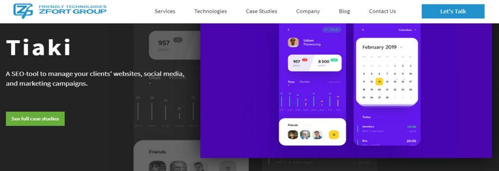 Zfort Group, Australian Best WordPress Company, Ollzo