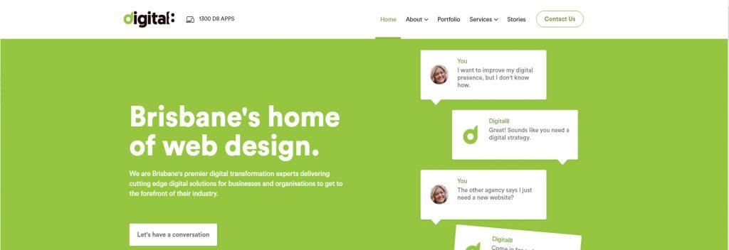Digital8, Australian Best WordPress Company, Ollzo