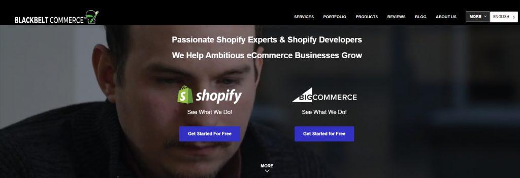 BlackBelt Commerce, Best eCommerce Marketing Agency, Ollzo