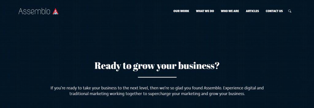 Assemblo, Australian Best WordPress Company, Ollzo
