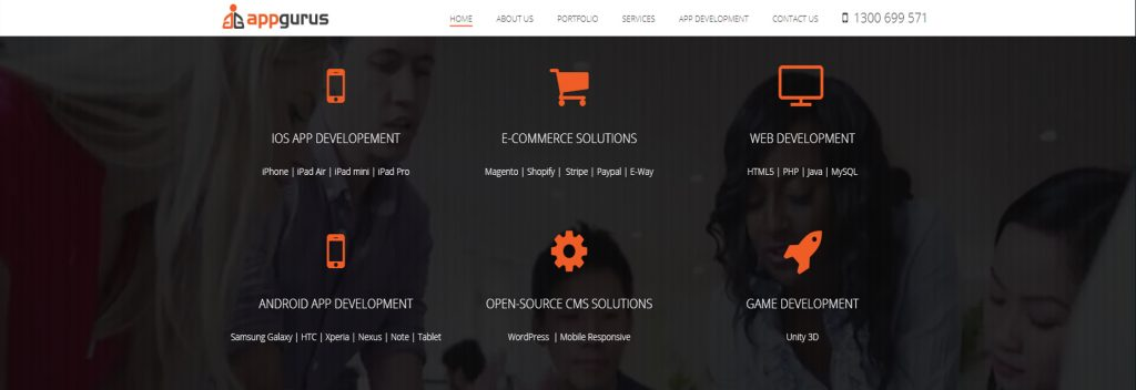 App Gurus, Australian Best WordPress Company, Ollzo