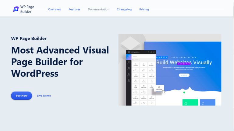 WP Page Builder Plugin ( Honest Review 2021)