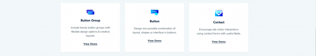 Button Block, Qubely Gutenberg Block Editor Plugin, ollzo