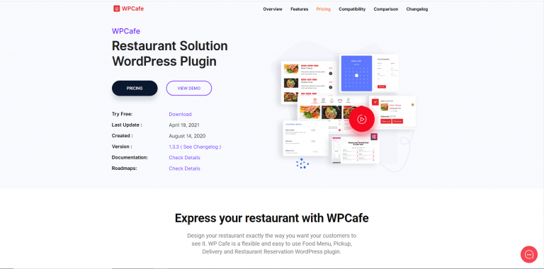 Why WP Cafe (WPCafe) is best Restaurant Website Plugin 2021?