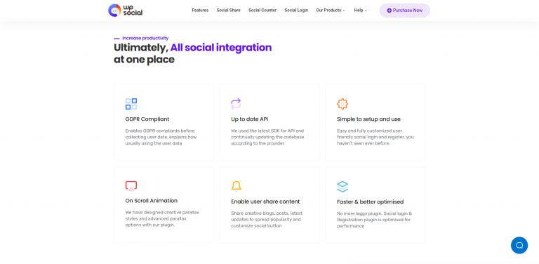 WP Social Best Social Share Plugin