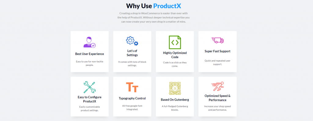 ProductX, the best Gutenberg Blocks for WooCommerce, ollzo