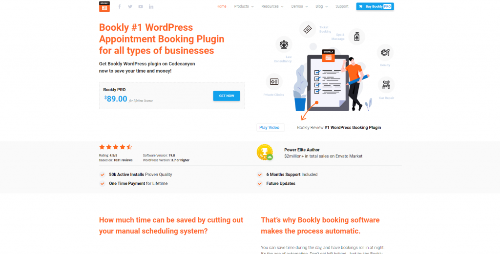 Bookly - WordPress Online Booking and Scheduling Plugin, ollzo