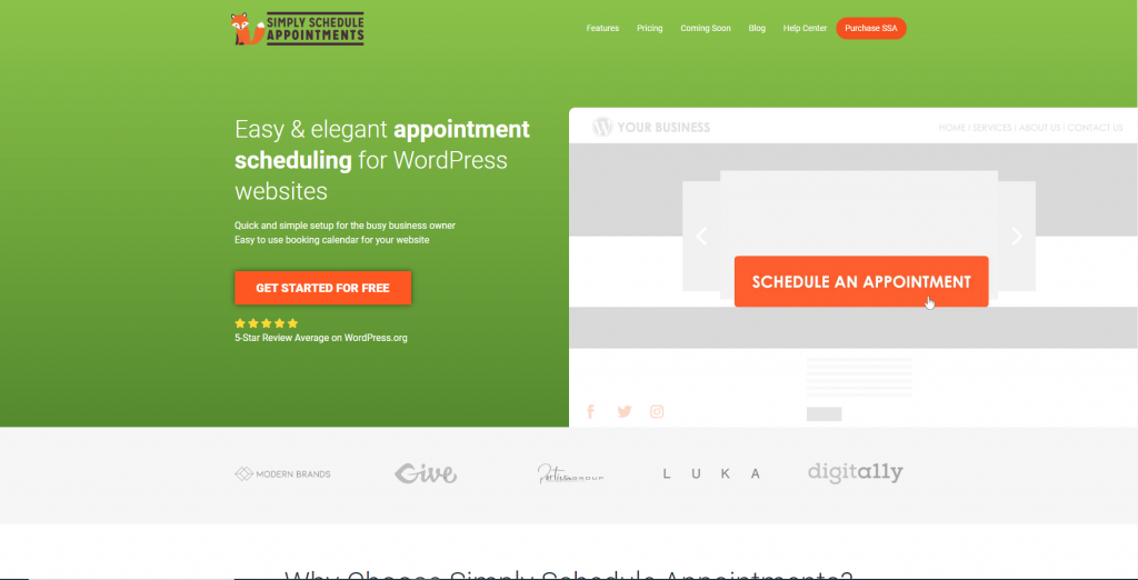 Simply Schedule Appointments – Booking Calendar, ollzo