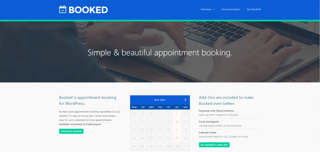 Booked - Appointment Booking for WordPress, ollzo
